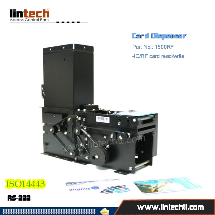 1500RF Card dispenser with RFID reader writer
