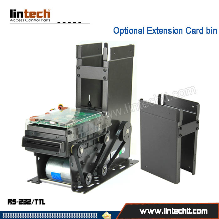 F3 Card dispenser collector with RFID/IC card reader writer