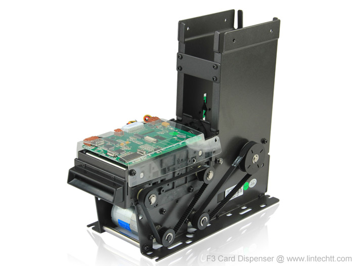 RFID/IC Card Dispenser: Motorized, F3