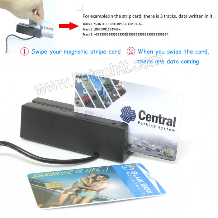LS-M80-C01 Magnetic card reader with buil-in Buzzer